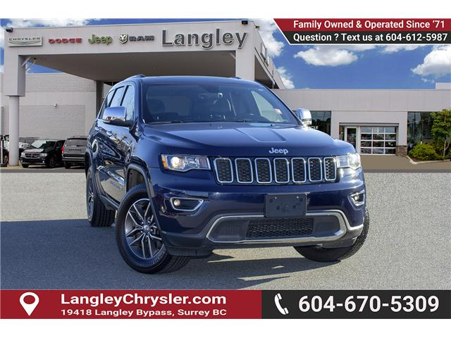 2018 Jeep Grand Cherokee Limited (Stk: EE899630) in Surrey - Image 1 of 15