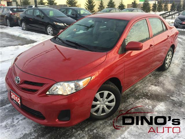 2012 Toyota Corolla CE (Stk: 892433) in Orleans - Image 1 of 21
