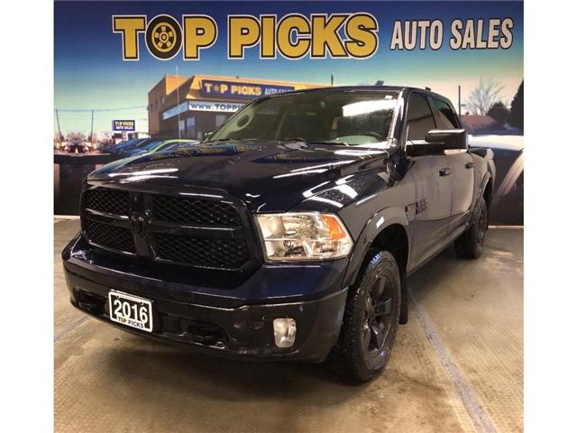 2016 RAM 1500 SLT (Stk: 40747) in NORTH BAY - Image 1 of 18