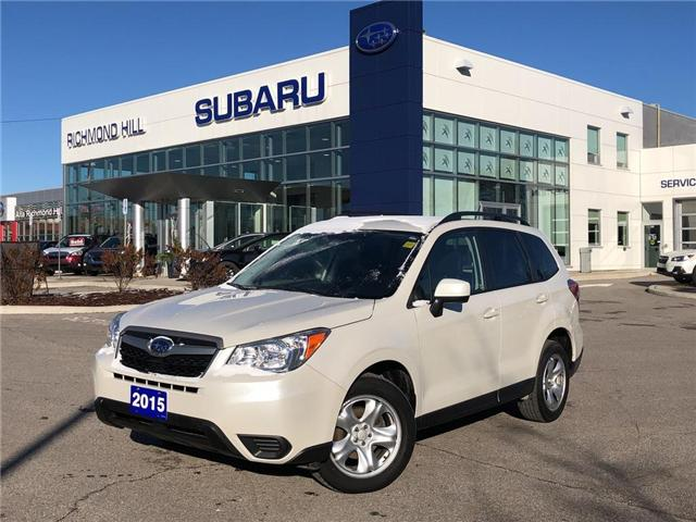 2015 Subaru Forester 2.5i (Stk: LP0204) in RICHMOND HILL - Image 1 of 22