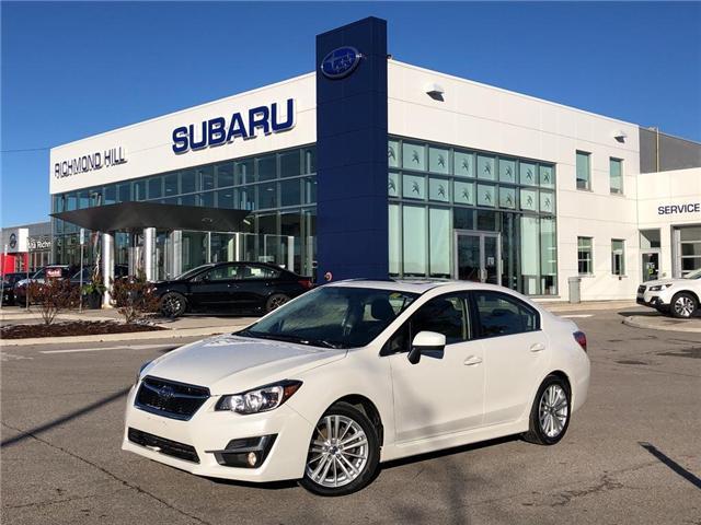 2016 Subaru Impreza 2.0i Sport Package (Stk: LP0205) in RICHMOND HILL - Image 1 of 23