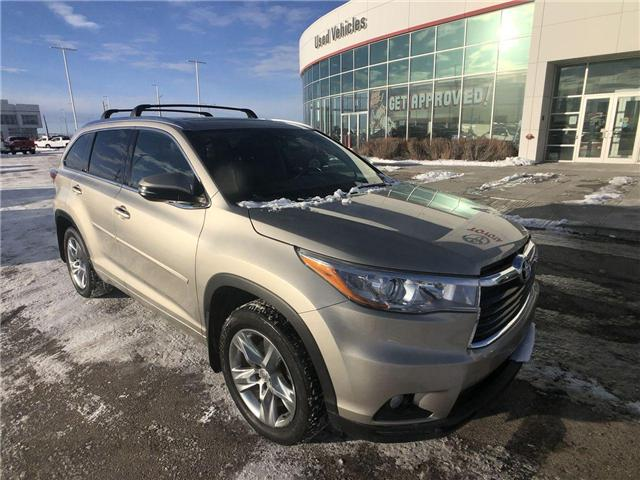 2015 Toyota Highlander Limited (Stk: 2801373A) in Calgary - Image 2 of 18