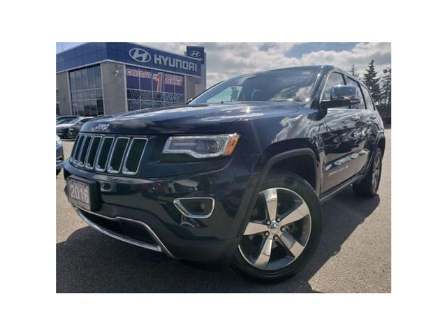 2016 Jeep Grand Cherokee Limited Luxery pkg Great deal.! CALL US NOW!! (Stk: OP9836) in Mississauga - Image 1 of 20