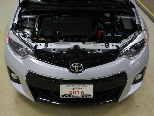 2016 Toyota Corolla  (Stk: 186446) in Kitchener - Image 25 of 28