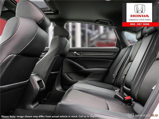 2019 Honda Accord Sport 1.5T (Stk: 19198) in Cambridge - Image 22 of 24