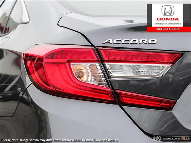 2019 Honda Accord Touring 1.5T (Stk: 19209) in Cambridge - Image 11 of 24