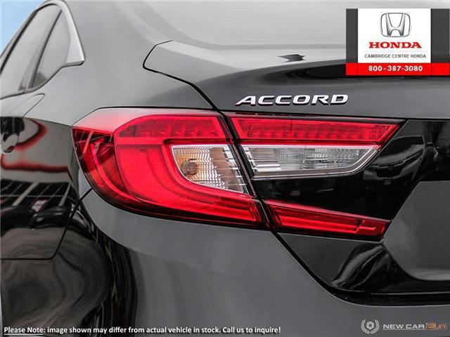 2019 Honda Accord Touring 1.5T (Stk: 19206) in Cambridge - Image 11 of 24