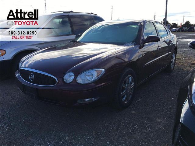 2007 Buick ALLURE CX FOG LAMPS, POWER DRIVER SEAT, ALLOY WHEELS, KEY (Stk: 42865A) in Brampton - Image 1 of 11