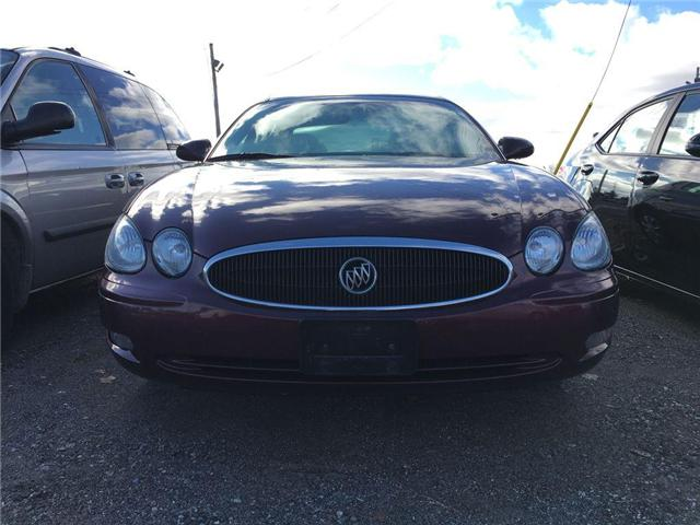 2007 Buick ALLURE CX FOG LAMPS, POWER DRIVER SEAT, ALLOY WHEELS, KEY (Stk: 42865A) in Brampton - Image 2 of 11