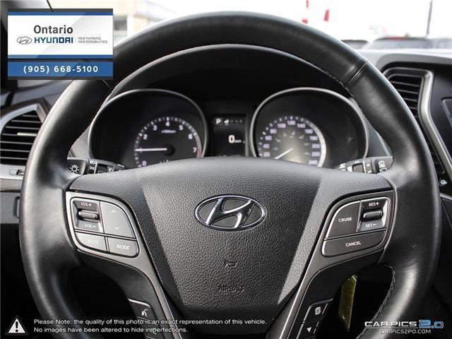 2018 Hyundai Santa Fe Sport 2.4 SE / AWD (Stk: 17177K) in Whitby - Image 14 of 27