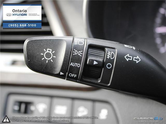 2018 Hyundai Santa Fe Sport 2.4 SE / AWD (Stk: 17177K) in Whitby - Image 16 of 27