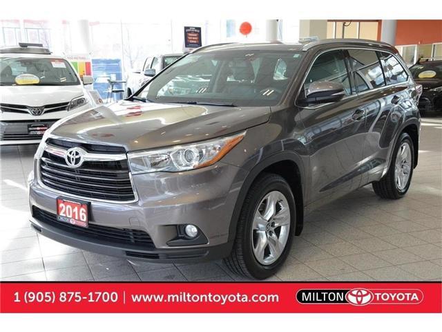 2016 Toyota Highlander  (Stk: 262938) in Milton - Image 1 of 35