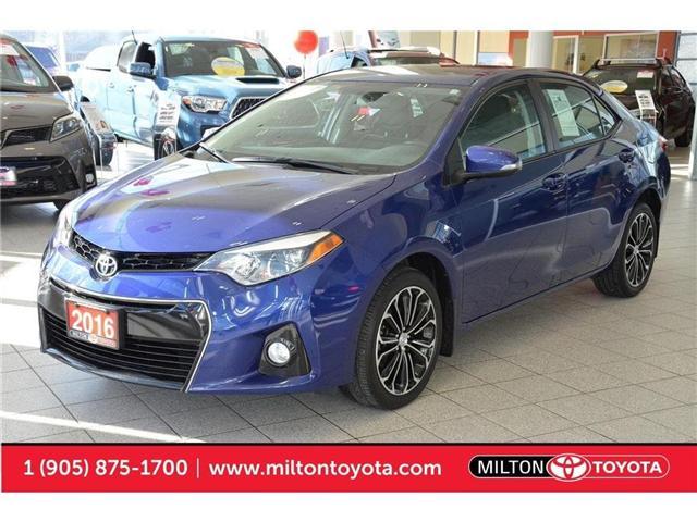 2016 Toyota Corolla S (Stk: 556291) in Milton - Image 1 of 40
