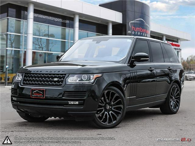 2016 Land Rover Range Rover  (Stk: 18HMS731) in Mississauga - Image 1 of 27