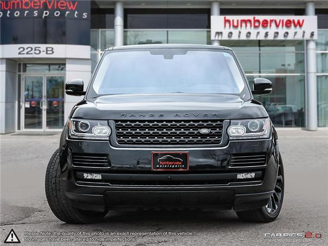 2016 Land Rover Range Rover  (Stk: 18HMS731) in Mississauga - Image 2 of 27