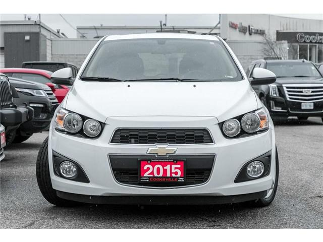 2015 Chevrolet Sonic LT Auto (Stk: 7754PT) in Mississauga - Image 2 of 19