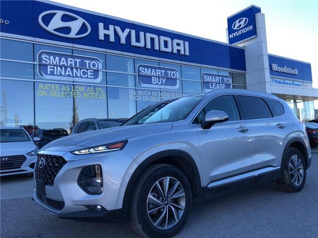 2019 Hyundai Santa Fe Preferred 2.4 (Stk: HD19000) in Woodstock - Image 1 of 30