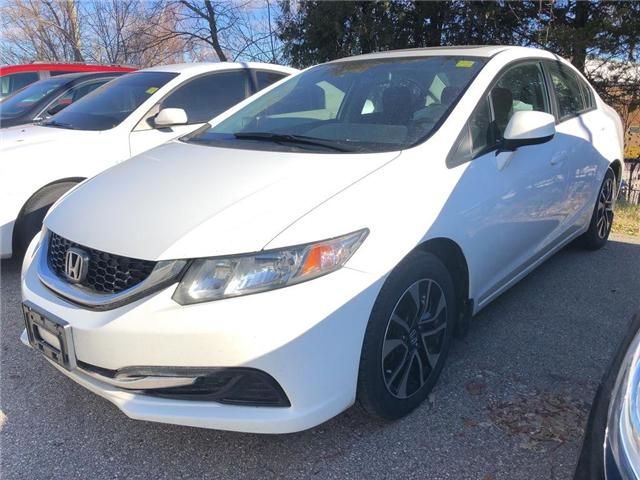 2013 Honda Civic EX (Stk: P1316A) in Woodstock - Image 1 of 11