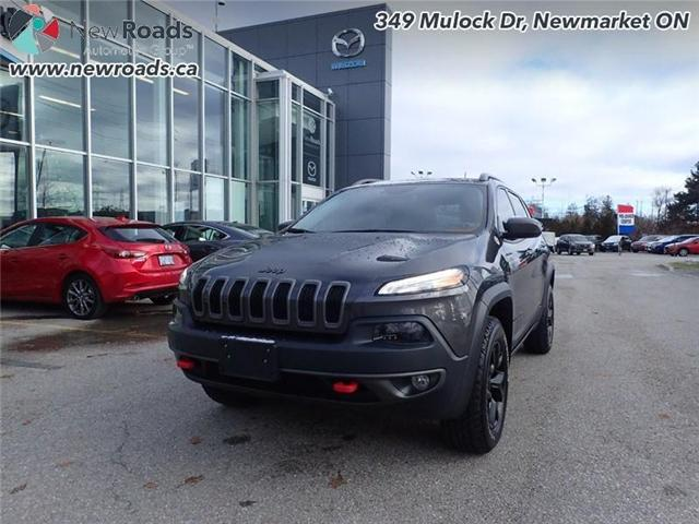2016 Jeep Cherokee Trailhawk (Stk: 40537A) in Newmarket - Image 1 of 30