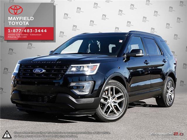 2016 Ford Explorer Sport (Stk: 1802466B) in Edmonton - Image 1 of 20