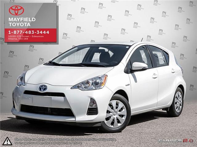 2014 Toyota Prius c Base (Stk: 1463123) in Edmonton - Image 1 of 20
