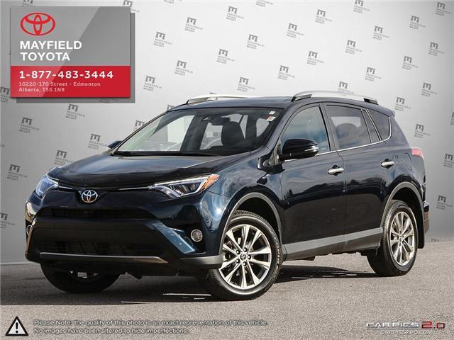 2017 Toyota RAV4 Limited (Stk: 1802195A) in Edmonton - Image 1 of 22