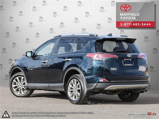 2017 Toyota RAV4 Limited (Stk: 1802195A) in Edmonton - Image 4 of 22