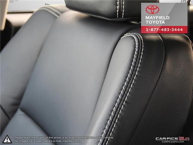 2017 Toyota RAV4 Limited (Stk: 1802195A) in Edmonton - Image 19 of 22
