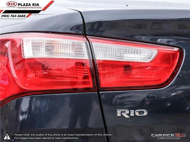 2015 Kia Rio  (Stk: 6690A) in Richmond Hill - Image 12 of 27