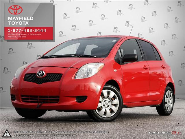 2008 Toyota Yaris LE (Stk: 180216B) in Edmonton - Image 1 of 20