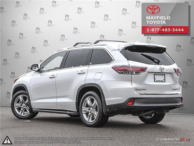 2015 Toyota Highlander Limited (Stk: 1802305A) in Edmonton - Image 4 of 27