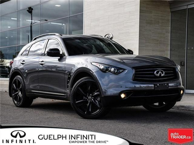 2016 Infiniti QX70 Sport (Stk: I6800A) in Guelph - Image 1 of 25