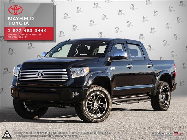 2015 Toyota Tundra Platinum 5.7L V8 (Stk: 184231A) in Edmonton - Image 1 of 22