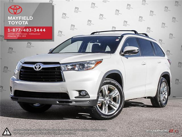 2015 Toyota Highlander Limited (Stk: 1802605A) in Edmonton - Image 1 of 20