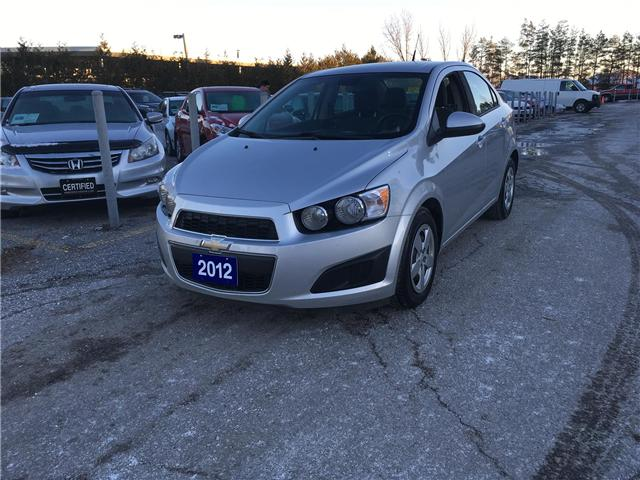 2012 Chevrolet Sonic 2LS Sedan (Stk: P3613) in Newmarket - Image 1 of 19