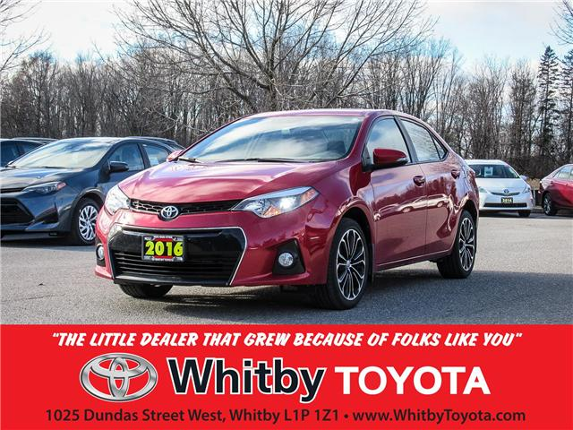 2016 Toyota Corolla  (Stk: 90178A) in Whitby - Image 1 of 17