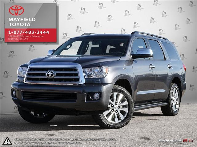 2017 Toyota Sequoia Limited 5.7L V8 (Stk: 190172A) in Edmonton - Image 1 of 20