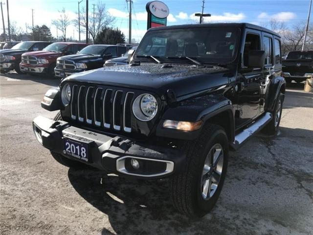 2018 Jeep Wrangler Unlimited Sahara (Stk: W17647) in Newmarket - Image 1 of 17