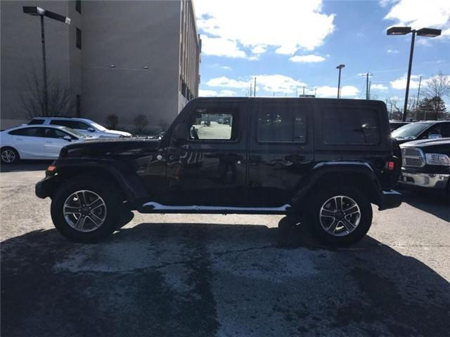 2018 Jeep Wrangler Unlimited Sahara (Stk: W17647) in Newmarket - Image 2 of 17