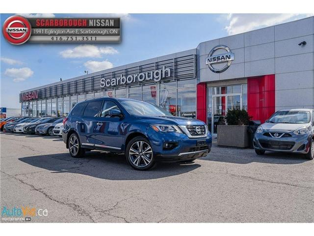 2018 Nissan Pathfinder  (Stk: P7623) in Scarborough - Image 2 of 16