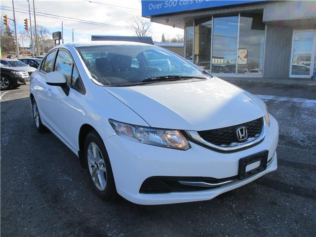 2013 Honda Civic LX (Stk: 181641) in Kingston - Image 1 of 12