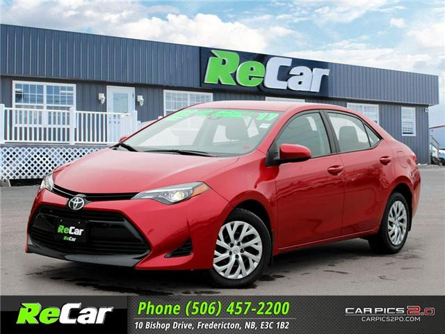 2017 Toyota Corolla LE (Stk: 181285A) in Fredericton - Image 1 of 27