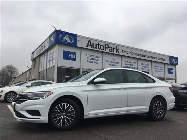 2019 Volkswagen Jetta 1.4 TSI Highline (Stk: 19-41222) in Brampton - Image 1 of 27