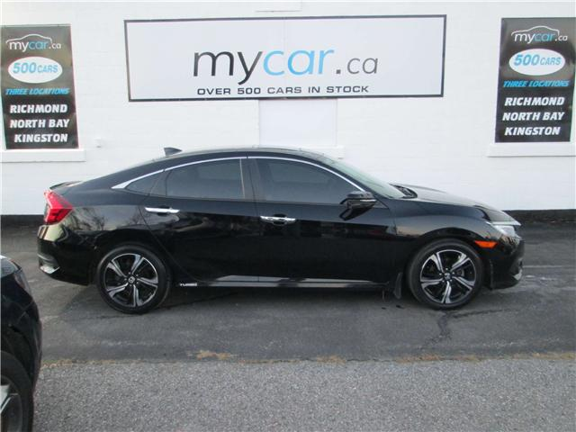 2016 Honda Civic Touring (Stk: 181818) in North Bay - Image 1 of 14