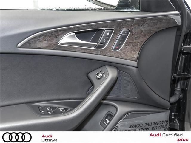 2017 Audi A6 3.0T Progressiv (Stk: 50765) in Ottawa - Image 13 of 22