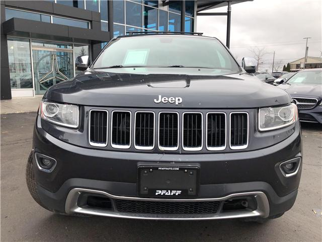 2014 Jeep Grand Cherokee Limited (Stk: U3497A) in Kitchener - Image 2 of 12