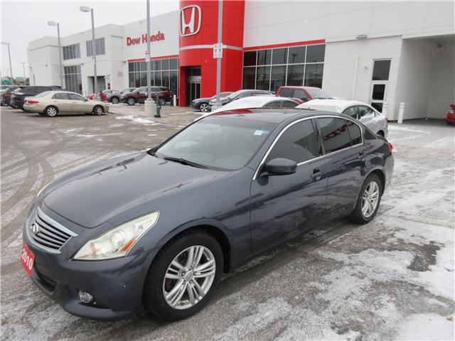2010 Infiniti G37x Luxury (Stk: 26331A) in Ottawa - Image 1 of 10