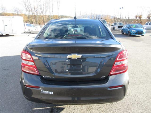 2017 Chevrolet Sonic LT Auto (Stk: 61810) in Cranbrook - Image 4 of 18
