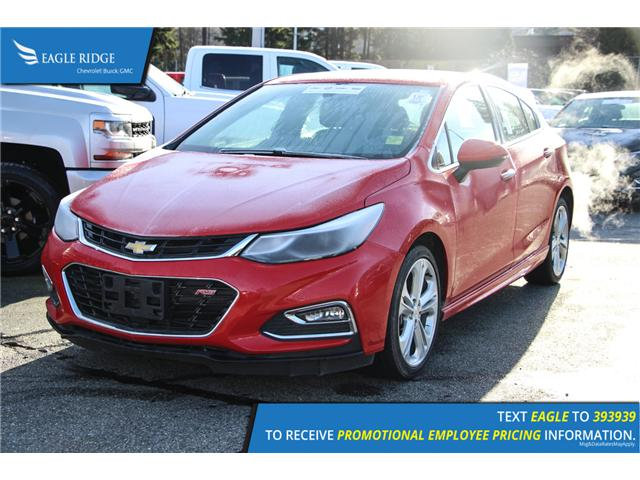 2018 Chevrolet Cruze Premier Auto (Stk: 189424) in Coquitlam - Image 1 of 5