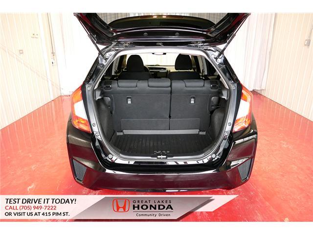 2015 Honda Fit  (Stk: HP581) in Sault Ste. Marie - Image 7 of 25